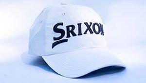 Srixon white golf hat